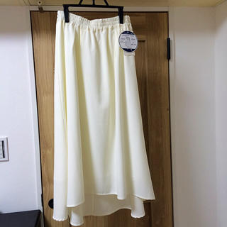 シマムラ(しまむら)の白スカート(ロングスカート)