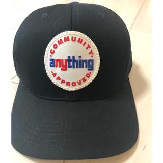 エニシング(aNYthing)のaNYthing  メッシュキャップ(キャップ)