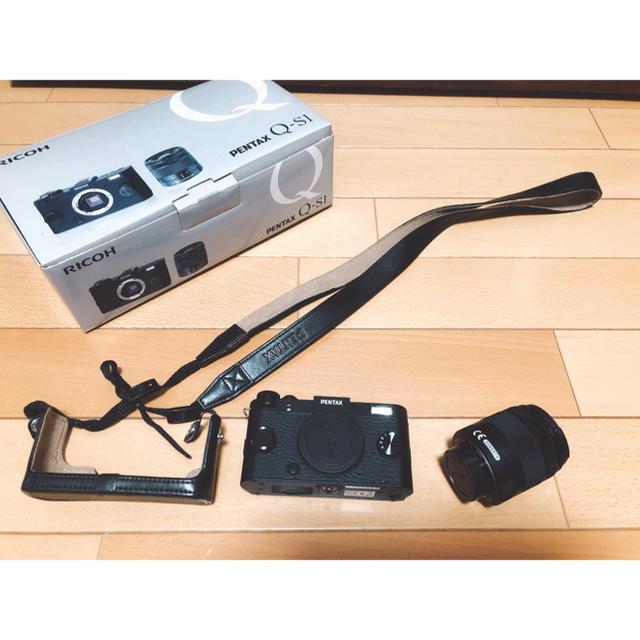 PENTAX(ペンタックス)の【ウッチー5556様専用】【デジタルカメラ】PENTAX Q-S1 ミラーレス スマホ/家電/カメラのカメラ(ミラーレス一眼)の商品写真