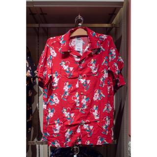 ディズニー(Disney)のDisney アロハシャツ ミニー M(シャツ/ブラウス(半袖/袖なし))