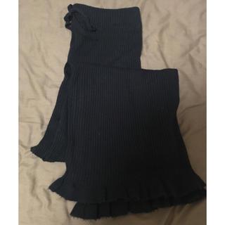 カスタネ(Kastane)の裾フリルニットパンツ(その他)