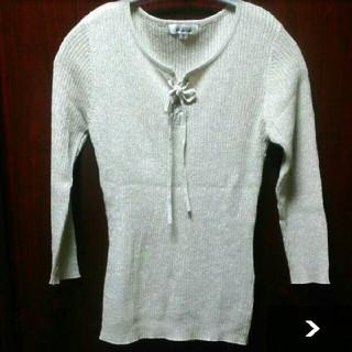 アルファキュービック(ALPHA CUBIC)のALPHACUBC  セーター(七分袖)(ニット/セーター)