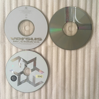 ディスクのみ 3枚 セット ミスチル アルバム(ポップス/ロック(邦楽))