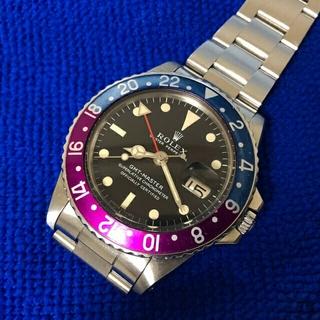 ロレックス(ROLEX)の258万 ROLEX GMTマスター ref1675(腕時計(アナログ))