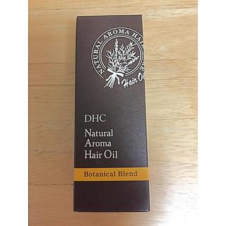 ディーエイチシー(DHC)のDHC ナチュラルアロマ ヘアオイル (ボタニカルブレンド)☆新品未開封(オイル/美容液)
