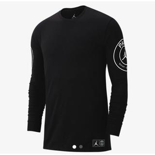 ナイキ(NIKE)の即発送!ジョーダン PSG   パリ サンジェルマン ロングスリーブ Tシャツ(Tシャツ/カットソー(七分/長袖))