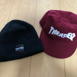 スラッシャー(THRASHER)のTHRASHER ニット帽 キャップセット(ニット帽/ビーニー)