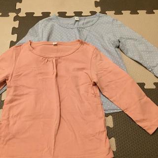 無印 長袖Tシャツ2枚セット