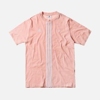 アディダス(adidas)のKITH x Addidas コラボT-シャツ - XS ピンク(Tシャツ/カットソー(半袖/袖なし))