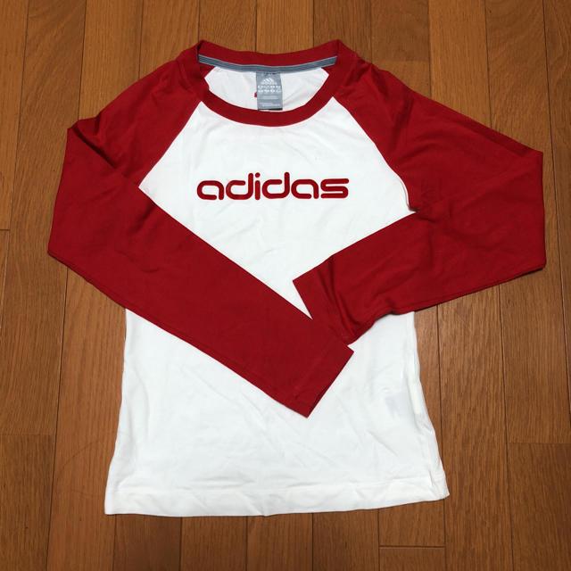 adidas(アディダス)の期間限定 SALE  adidas Tシャツ M レディースのトップス(Tシャツ(長袖/七分))の商品写真