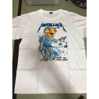 アゲインスト(AGAINST)のMETALLICA バンドTシャツ(Tシャツ/カットソー(半袖/袖なし))