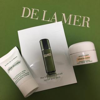 ドゥラメール(DE LA MER)のDE LA MER サンプルセット ドゥラメール 化粧水 洗顔料 クリーム(サンプル/トライアルキット)