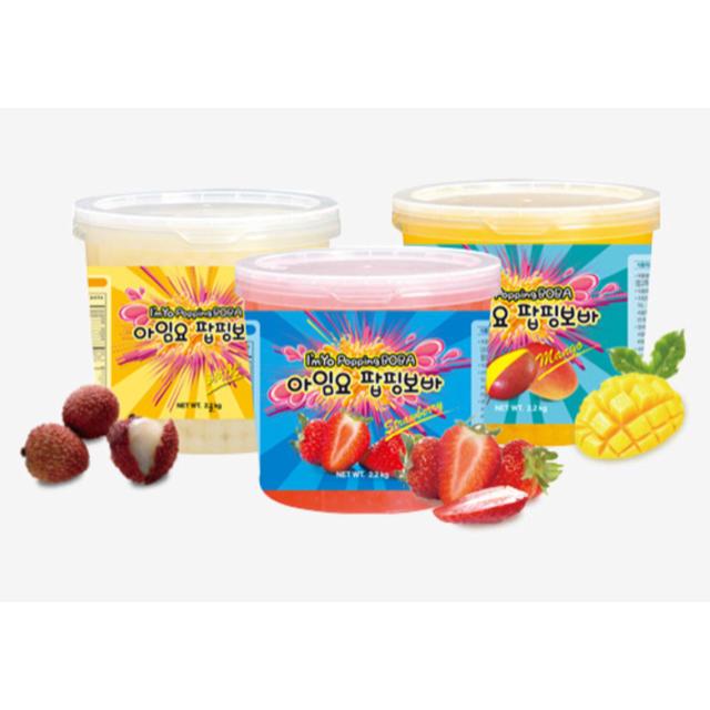 m様専用 ポッピングボバ マンゴー味 2.2kg 食品/飲料/酒の食品