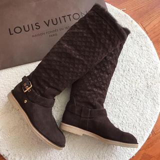 ルイヴィトン(LOUIS VUITTON)のルイ・ヴィトン ♡モノグラムムートンブーツ♡37(ブーツ)