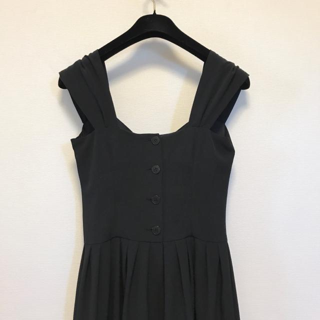 ea2a588ebd4a3 agnes b.(アニエスベー)のアニエスべー パリ ワンピース ドレス ロング 黒 レディース
