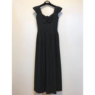 8eb5f86faf06f agnes b. - アニエスべー パリ ワンピース ドレス ロング 黒の通販 by ♡|アニエスベーならラクマ