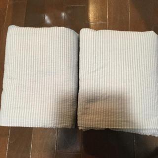 ムジルシリョウヒン(MUJI (無印良品))の無印良品 敷きカバーセミダブルセット(シーツ/カバー)