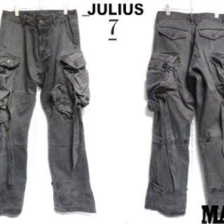 ユリウス(JULIUS)のユリウス ガスマスク カーゴパンツ 11SS し(ワークパンツ/カーゴパンツ)