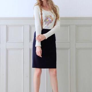 ニーナミュウ(Nina mew)のニーナミュウ ネイビースカート(ひざ丈スカート)