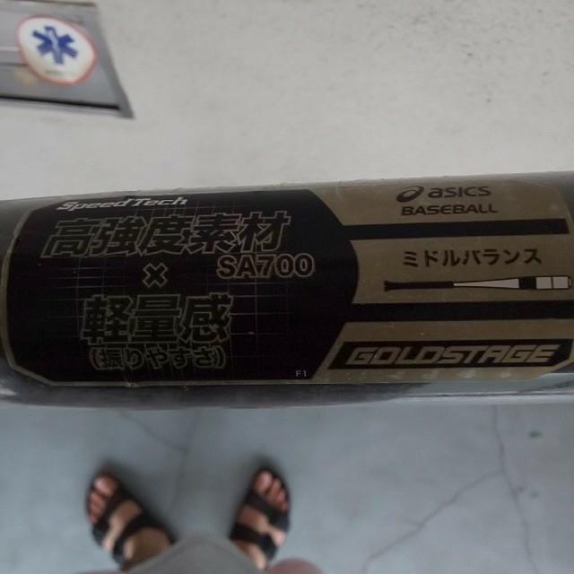 asics(アシックス)の新品 硬式 アシックス スピードテック 83cm 900g以上 ミドルバランス スポーツ/アウトドアの野球(バット)の商品写真