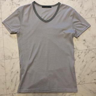 エイケイエム(AKM)のAKM ボーダー Tシャツ(Tシャツ/カットソー(半袖/袖なし))