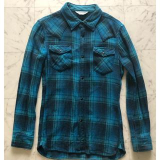 エイケイエム(AKM)のAKM チェックシャツ Mサイズ(シャツ)
