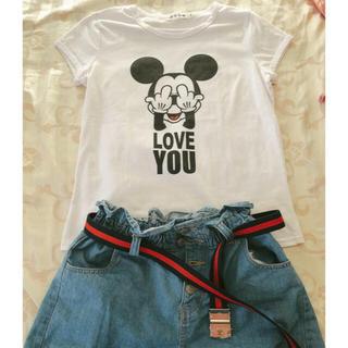 Disney - 韓国 ミッキーTシャツ