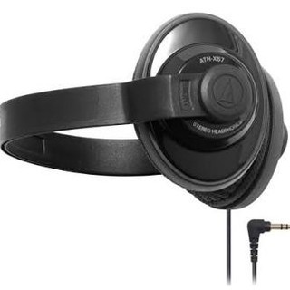 オーディオテクニカ(audio-technica)の送料込 美品 ATH-XS7 オーディオテクニカ ヘッドホン ブラック(ヘッドフォン/イヤフォン)