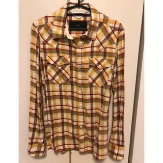 エイケイエム(AKM)のAKM チェックシャツ S(シャツ)