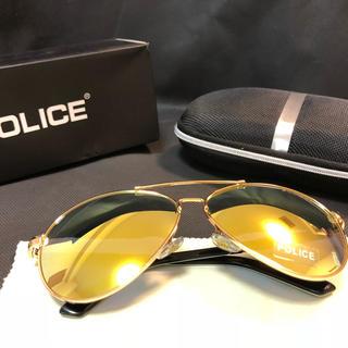 ポリス(POLICE)のPOLICE ポリスサングラスイエロー(サングラス/メガネ)