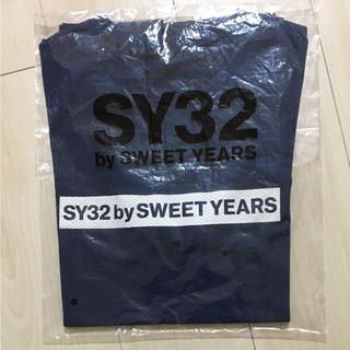 新品未使用未開封 SY32 ノベルティTシャツ Mサイズ 濃紺 ネイビー