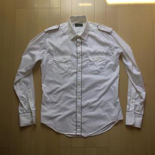 ザラ(ZARA)のZARA ホワイトシャツ M  SIZE(シャツ)