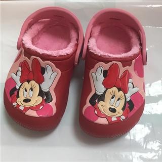 ディズニー(Disney)のクロックス ミニー ディズニー(スリッポン)