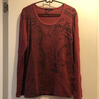 カミエラ(CAMIERA)の¥8640 CAMIERA MAPモチーフカットソー(Tシャツ/カットソー(七分/長袖))