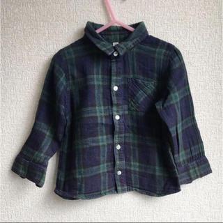 MUJI (無印良品) - 無印 タータンチェックシャツ