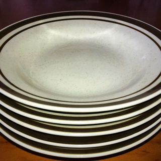 トノ(TONO)のTONO CHINA JAPAN カレー皿5客+おしぼりタオル5本(食器)