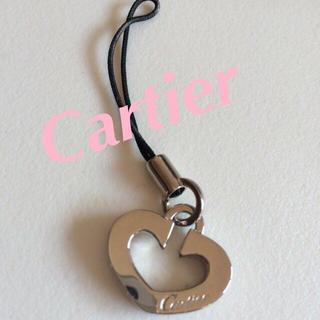 カルティエ(Cartier)のCartier⭐︎携帯ストラップ(ストラップ/イヤホンジャック)