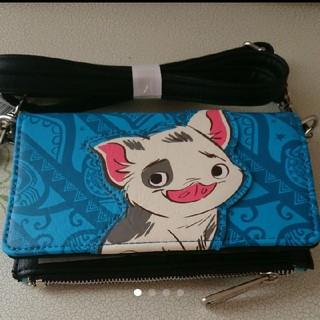 ディズニー(Disney)のラウンジフライ モアナのプアとヘイヘイの長財布(財布)