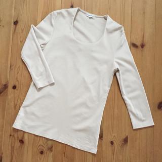 スーツカンパニー(THE SUIT COMPANY)の七分袖カットソー&ピンクベージュカットソー(カットソー(長袖/七分))