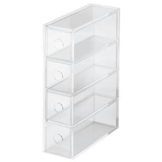 MUJI (無印良品) - 無印良品 アクリル 収納 ボックス ケース