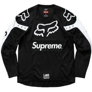 シュプリーム(Supreme)のsupreme fox racing moto jersey top 新品 M(ジャージ)