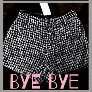 バイバイ(ByeBye)のツイードショーパンByeBye(ショートパンツ)