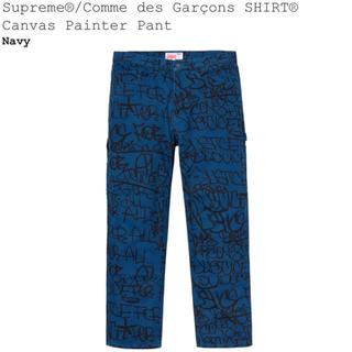 シュプリーム(Supreme)のM supreme COMME des GARCONS painter pant(ペインターパンツ)