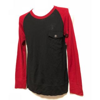 アユイテ(AYUITE)のAYUITE アユイテ  胸ポケット ダメージ加工 ウールカットソー(Tシャツ/カットソー(七分/長袖))