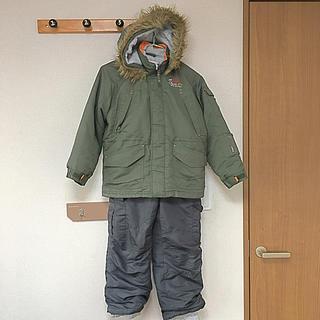 キッズ スキー&スノボーウエア 130 ユーズド(ウエア/装備)