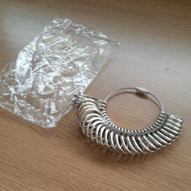 リングゲージ日本規格☆1号~28号☆新品未使用品 レディースのアクセサリー(リング(指輪))の商品写真