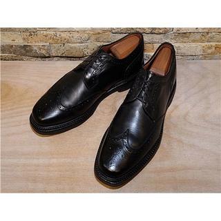 アレンエドモンズ(Allen Edmonds)の超美品 アレンエドモンズ ウイングチップドレス 黒 27cm(ドレス/ビジネス)