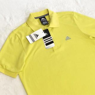 アディダス(adidas)の新品未使用 adidasアディダス ポロシャツメンズイエローポロシャツサイズM(その他)