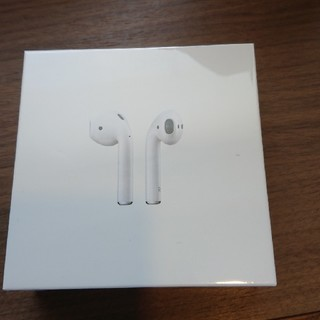 アップル(Apple)のair pods(ヘッドフォン/イヤフォン)