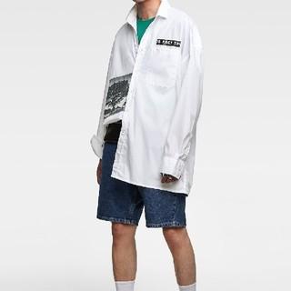 ザラ(ZARA)のzaraオーバーサイズシャツL(シャツ)